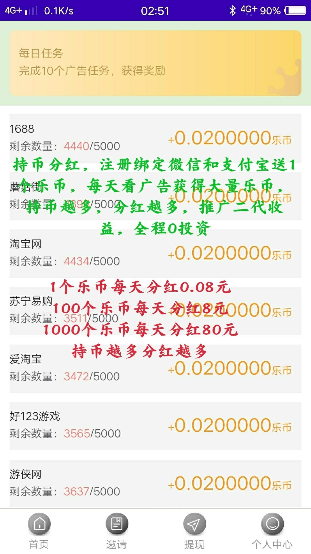 图片[2]-乐享广告一币每天分红0.08元-首码社