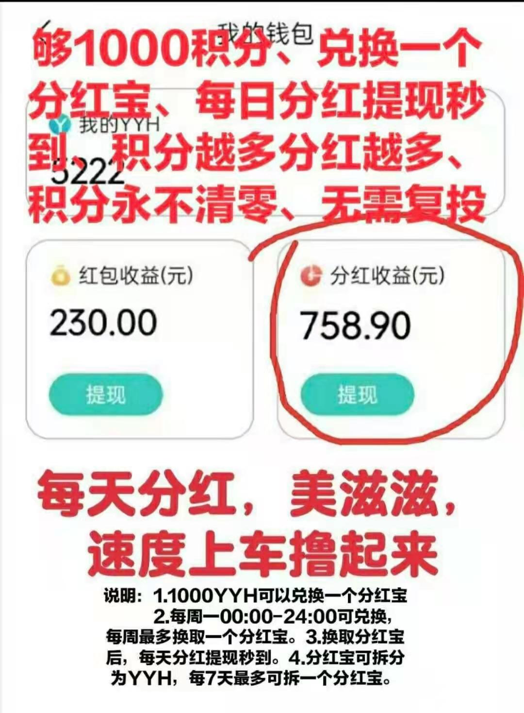 图片[3]-【零撸】YYH趣生活,分红模式,每天零撸30元!-首码社